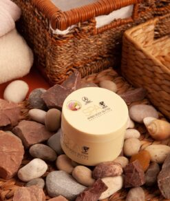 UNT ANTICELULITIC MODELATOR CU COCOS SI FRUCTE EXOTICE, ULTRA HIDRATANT SI REGENERANT SPA AMBER BODY BUTTER ANTICELLULITE WITH COCONUT & TROPICAL FRUITS 200ML