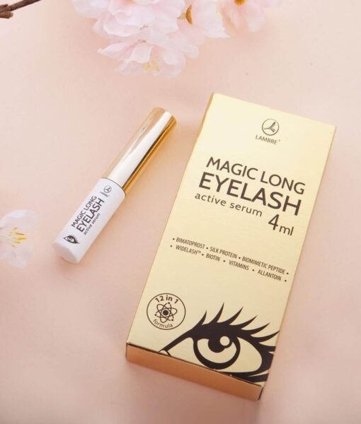 SER PENTRU REGENERAREA SI STIMULAREA CRESTERII GENELOR MAGIC LONG EYELASH ACTIVE SERUM 4ML