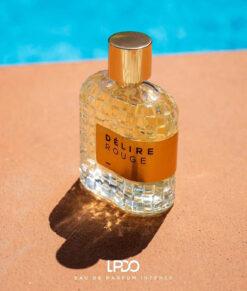 DÉLIRE ROUGE LPDO Apa de parfum pentru femei 100ML 2